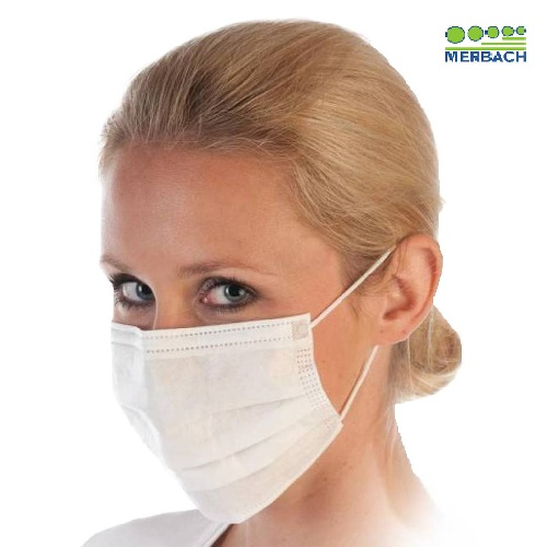 Disposable Elastic Ear Loop, 3-Layer Mouth Face Masks 10 pcs