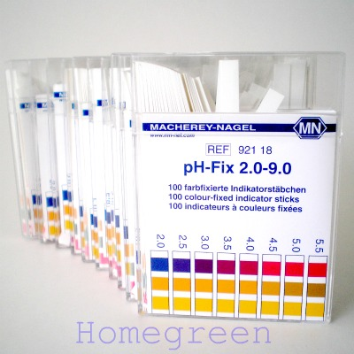pH Indicator Strips range 2.0-9.0
