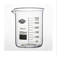Beaker 400 ml Heat Resistant Boro Low Form